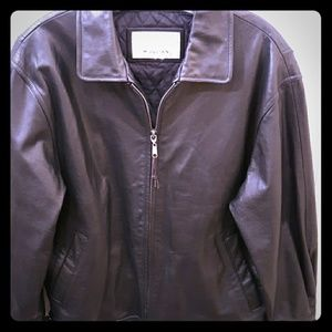 Wilson vintage leather coat
